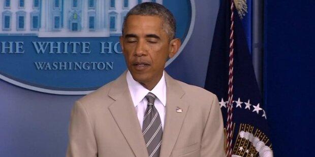 Obama: Spott wegen Anzug