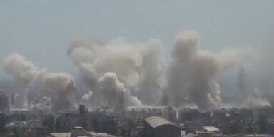 Damaskus unter Beschuss
