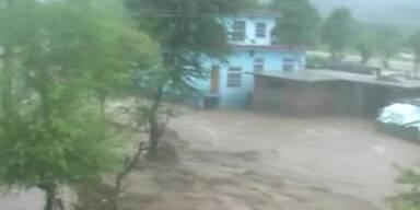 Hochwasser in Kaschmir