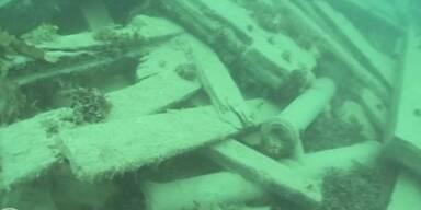 Arktis-Expeditionsschiff entdeckt