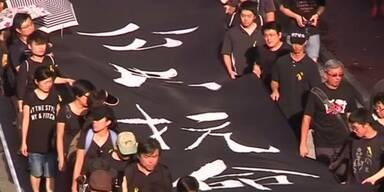 Erneute Proteste in Hongkong