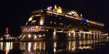 Drittgrößtes Kreuzfahrtschiff