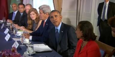 Obama trifft arabische Verbündete