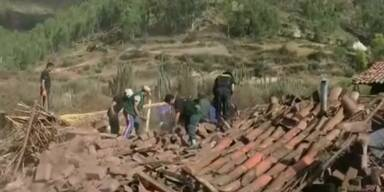 Tote bei Erdbeben in Peru