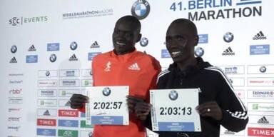 Neuer Weltrekord bei Berlin-Marathon
