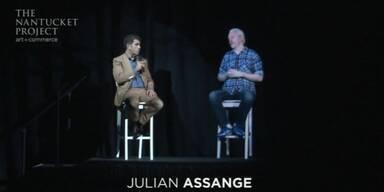 Julian Assange zu Gast in den USA