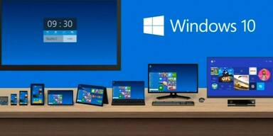 Microsoft: das neue Windows 10
