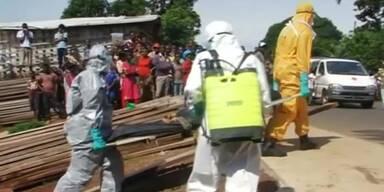 Angst vor Ebola-Leiche löst Krawalle aus