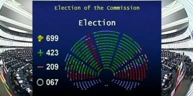 Grünes Licht für neue EU-Kommission