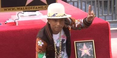 "Pharrell Williams ist ""happy"""