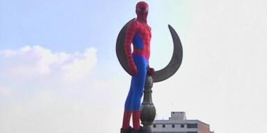 Spider-Man in Ägypten unterwegs