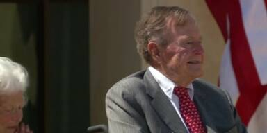 Ex-US-Präsident Bush senior im Krankenhaus