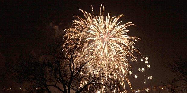 Feuerwerks-Verbot in ganz Tirol