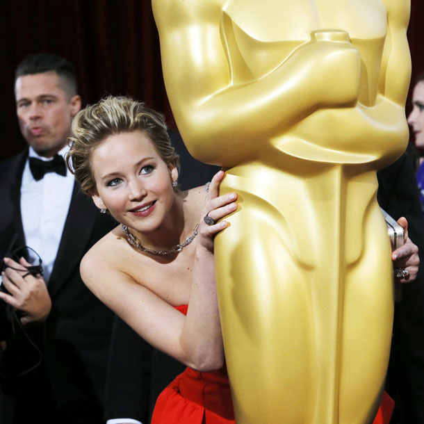 Oscars 2014: Jennifer Lawrence