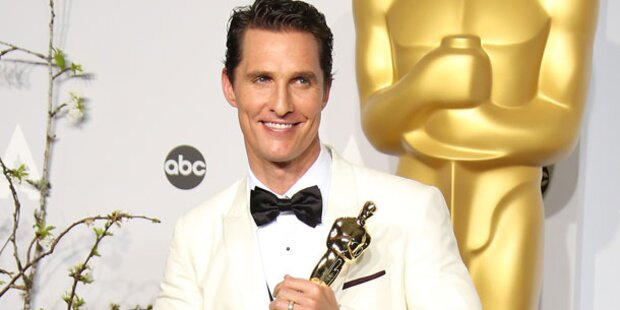 McConaughey: Fesch-gebotoxt für Oscars