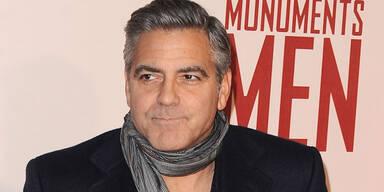 George Clooney pöbelt im Suff