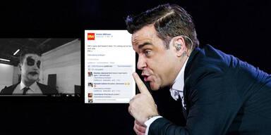 Robbie Williams kündigt Tour an