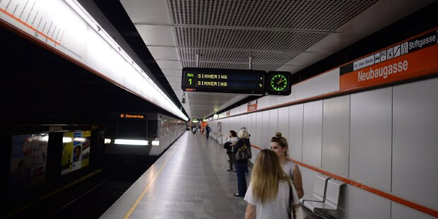 Sex-Attacke in U-Bahn: U-Haft für Tschechen