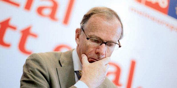 Tumult um den SPÖ-Spitzenkandidaten