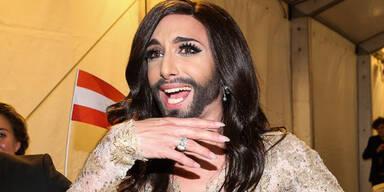 Conchita Wurst beim Eurovision Song Contest