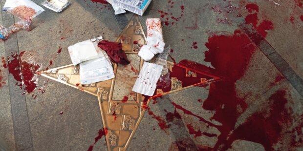 Messer- Attacke in Wiener City