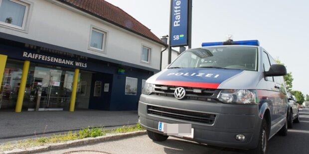 Bankräuber nach Überfall in Wels gefasst