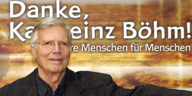 Karlheinz Böhm: ORF ändert sein Programm
