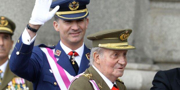 Felipe schon in 2 Wochen König von Spanien?