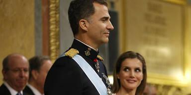 König Felipe: Seine Vereidigung