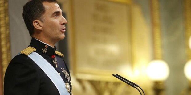 König Felipe VI.: Seine erste Rede