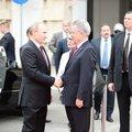 Putin zu Besuch in Wien