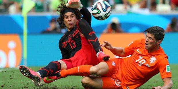 Holland bezwingt Mexiko
