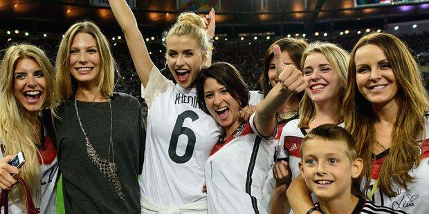 Wer ist Deutschlands heißeste Spielerfrau?