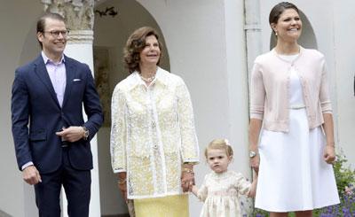 Kronprinzessin Victoria von Schweden feiert Geburtstag