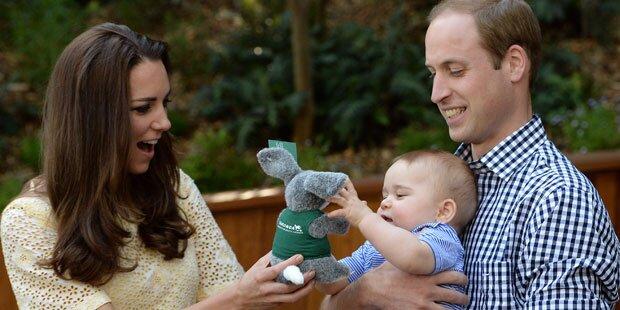 Prinz George: So wird sein 1. Geburtstag