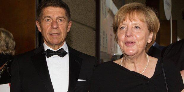Merkel: Liebesurlaub in Salzburg