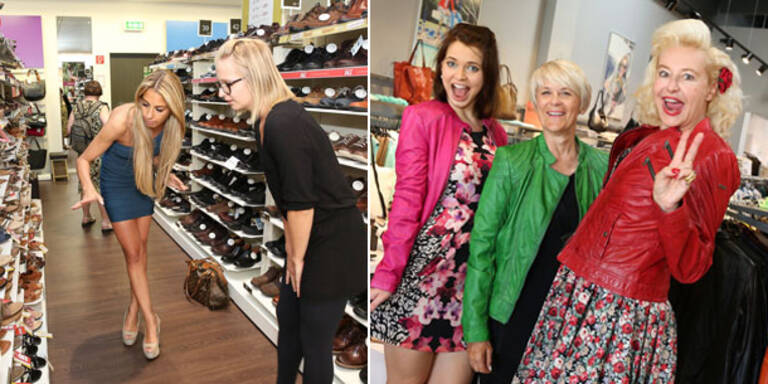 Charity-Shopping mit VIPs