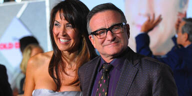 Robin Williams und Ehefrau Susan Schneider