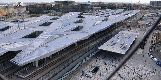 Wiener Hauptbahnhof evakuiert