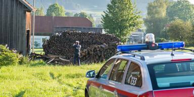 22-Jähriger prallt in Holzstoß - tot