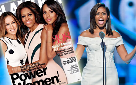 Power-Cover mit First Lady