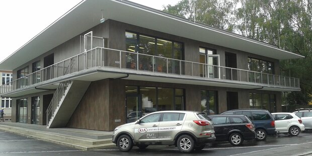 Neubau Mittelschule in Liefering