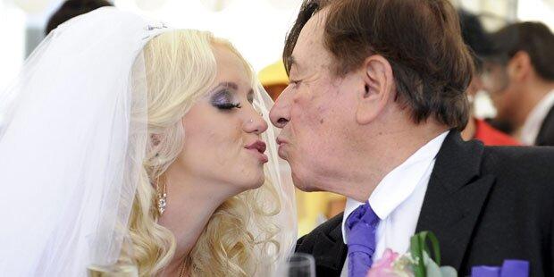 Lugner & Spatzi: Irrste Hochzeit des Jahres