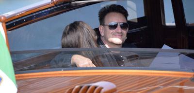 Bono Vox Clooney Hochzeit