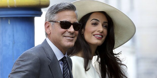 Amal Clooney drohte Festnahme
