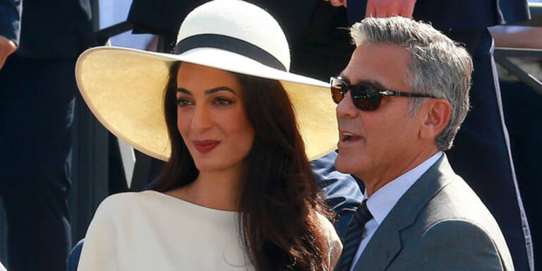 Clooney: So traurig wird Hochzeitstag