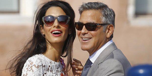Clooney-Hochzeit kostete 10 Millionen