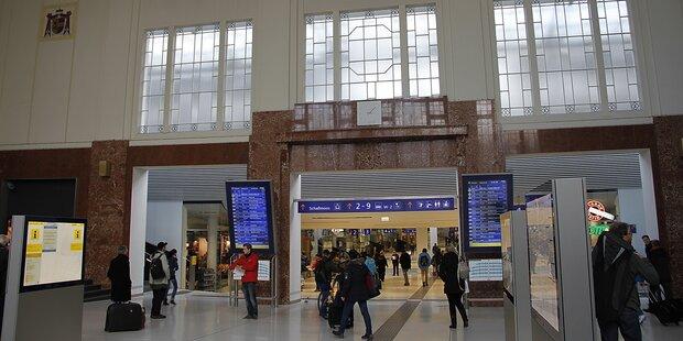 Messerstecherei am Salzburger Bahnhof