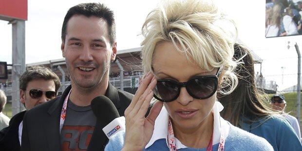 Pamela Anderson, hast du ein Problem mit Keanu Reeves?