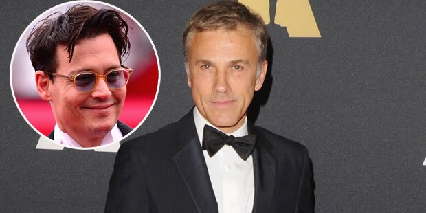 Christoph Waltz: Johnny Depp schnappt Rollen weg